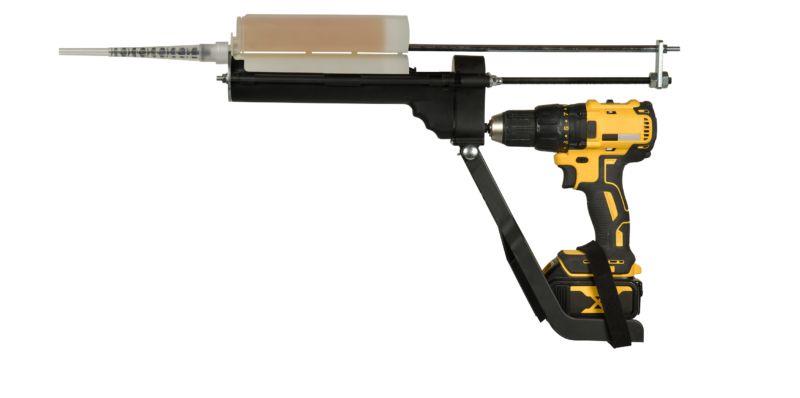 Pistolets d'extrusion adaptables sur visseuse