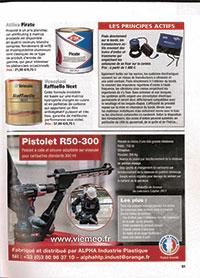 Pistolet à cartouche adaptable sur visseuse dans Voile magazine en 2019